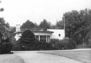 Theehuis de Goffert met bossage